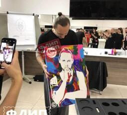 портрет нарисуй сам